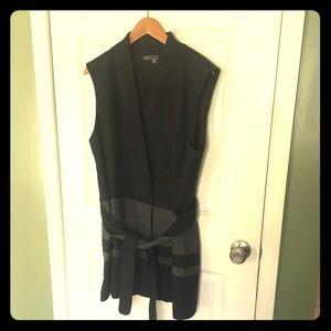 Vince Wool Wrap Dress Coat XL